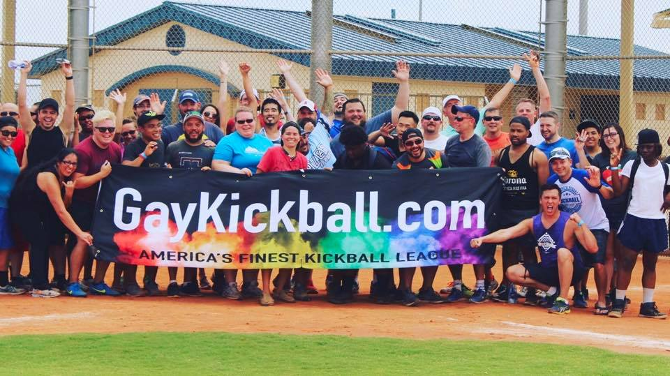 Las Vegas LGBT Kickball Pick Up Game 3