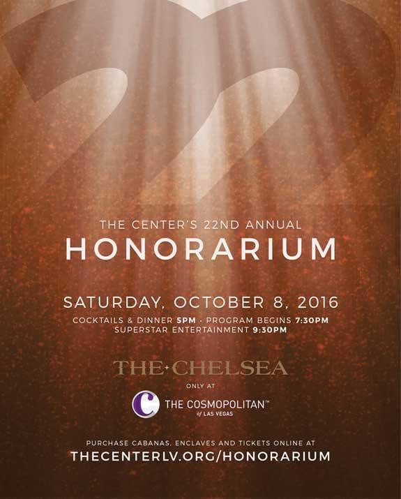 THE CENTER'S 22ND ANNUAL HONORARIUM